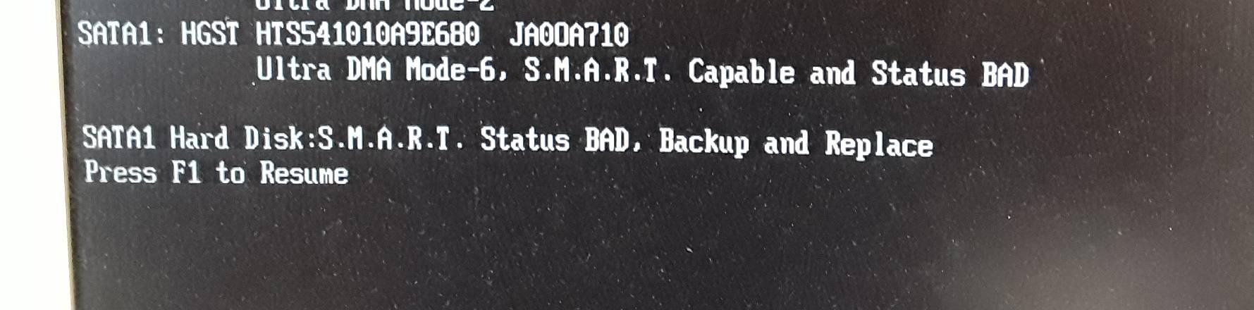 Festplatte hat Fehler - Datenrettung ist möglich
